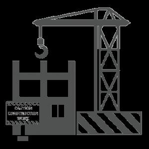 Icone Eraiki pour la construction par Macrovector