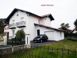 Projet d'une maison à rénover au pays basque